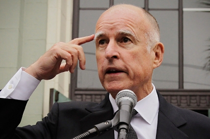 California Gov. Jerry Brown Received a Civil Rights Award from his Appointed individuals