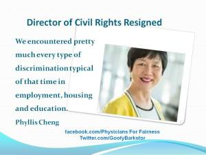 DirectorCivl Rights Resiged Quote