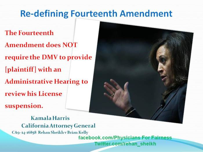 Kamala Harris 14th Amendment